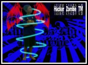 Hacker zombie